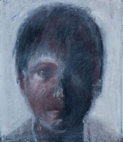 Roanan LEVY (1954)  Portrait d'un garçon...
