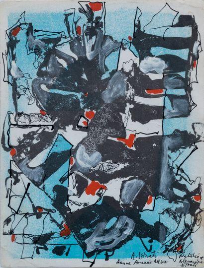 Alexandre ISTRATI (1915-1991)  Composition...