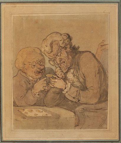 Attribué à Thomas ROWLANDSON (1756-1827)...
