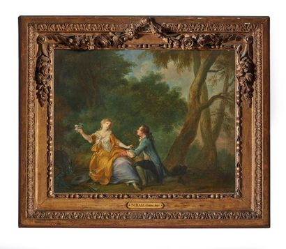 Jean-Baptiste BÉNARD (actif 1751-1789)  La...