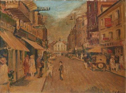 Jacques-Emile BLANCHE (1861-1942)  Rue de...