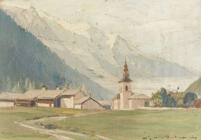 Charles CONTENCIN (1898-1955)  Argentière...