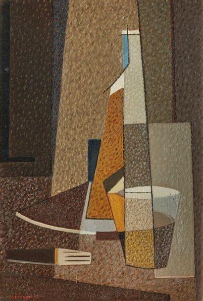 Charles MÉRANGEL (1908-1993)  Nature morte...