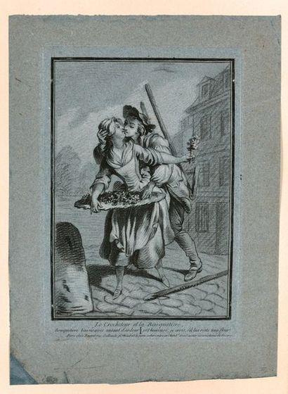 Louis-Marin BONNET (1736-1793)  Les Cris...