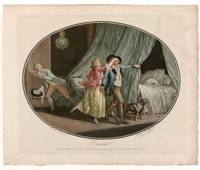 Pierre BELJAMBE (1759-c.1820)  Coucou, d'après...