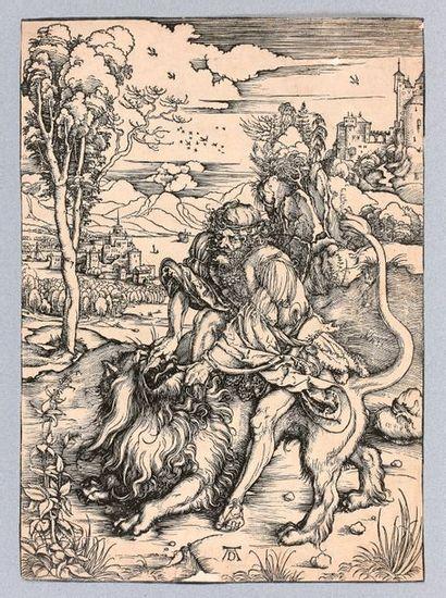 Albrecht DÜRER (Nuremberg 1471-1528)  Samson...