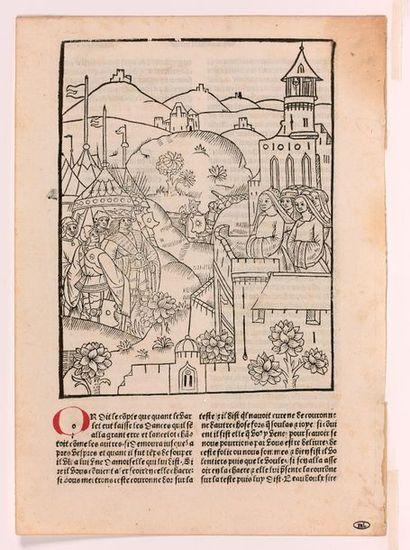Atelier de Guillaume Le Rouge, XVe siècle...