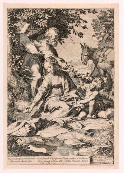 Cornelis CORT (Hoorn 1533-Rome 1578)  Le...