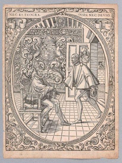 Jean II de GOURMONT (actif de 1562 à 1596)...