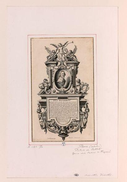 Abraham BOSSE (Tours 1602-Paris 1676)  Portrait...
