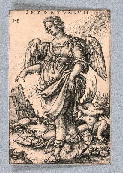 Hans Sébald BEHAM (1500-1550)  Infortunium,...
