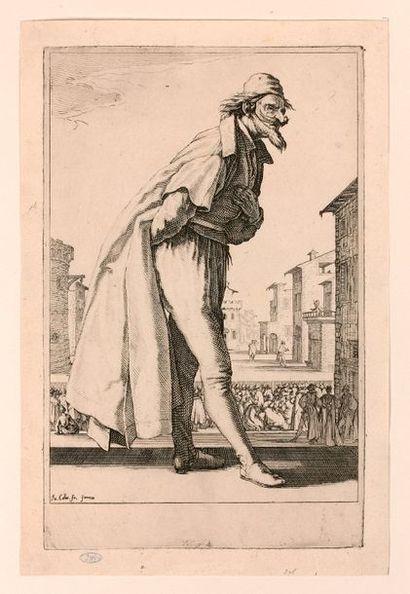 Jacques CALLOT (Nancy 1592-1635)  Les Trois...