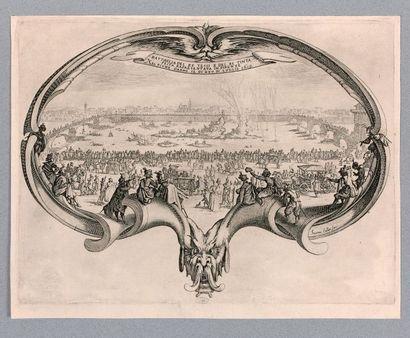 Jacques CALLOT (Nancy 1592-1635)  L'Éventail,...