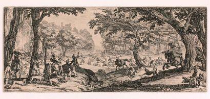 Jacques CALLOT (Nancy 1592-1635)  La Grande...