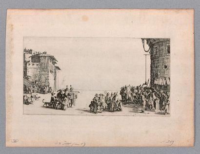 Jacques CALLOT (Nancy 1592-1635)  Le Marché...