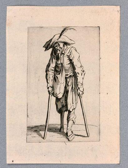 Jacques CALLOT (Nancy 1592-1635)  Les Gueux,...