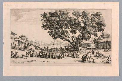 Jacques CALLOT (Nancy 1592-1635)  La Foire...