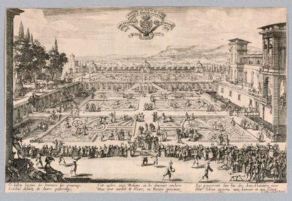 Jacques CALLOT (Nancy 1592-1635)  Le Parterre...