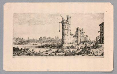 Jacques CALLOT (Nancy 1592-1635)  Les deux...