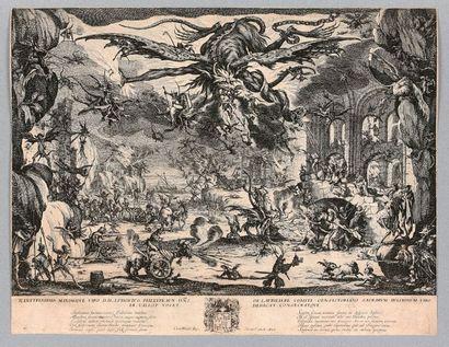 Jacques CALLOT (Nancy 1592-1635)  La Tentation...