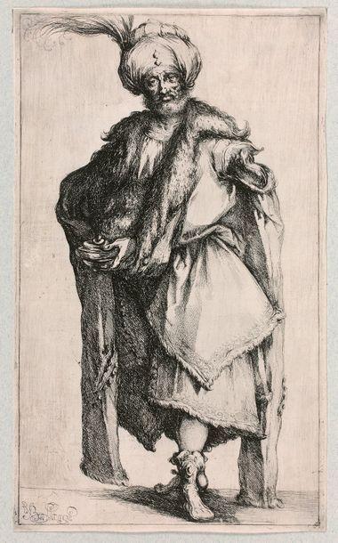 Jacques BELLANGE (Bassigny 1575-1616)  Melchior,...