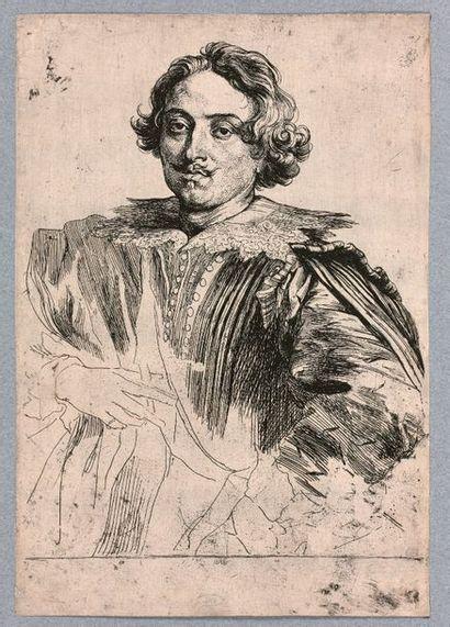 Anthonius VAN DYCK (Anvers 1599-Londres 1641)...