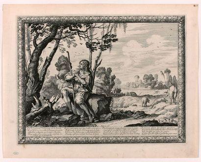 Abraham BOSSE (Tours 1602-Paris 1676)  L'Enfant...