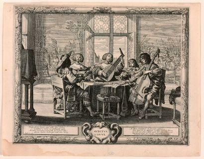 Abraham BOSSE (Tours 1602-Paris 1676)  Les...