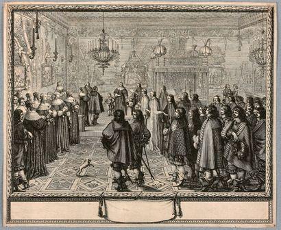 Abraham BOSSE (Tours 1602-Paris 1676)  Cérémonie...