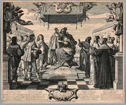 Abraham BOSSE (Tours 1602-Paris 1676)  La...