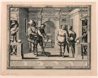 Abraham BOSSE (Tours 1602-Paris 1676)  L'Hotel...