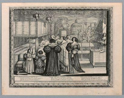 Abraham BOSSE (Tours 1602-Paris 1676)  Le...