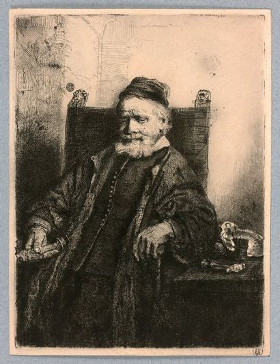 Rembrandt VAN RIJN (Amsterdam 1606-1669)...