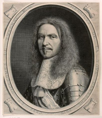 Robert NANTEUIL (Reims 1623-Paris 1678)  Henri...