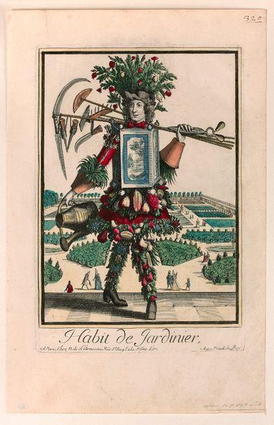 Nicolas II de LARMESSIN, dit le Vieux (Paris...
