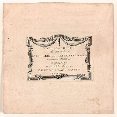 Giovanni-Battista TIEPOLO (Venise 1696-1770)...