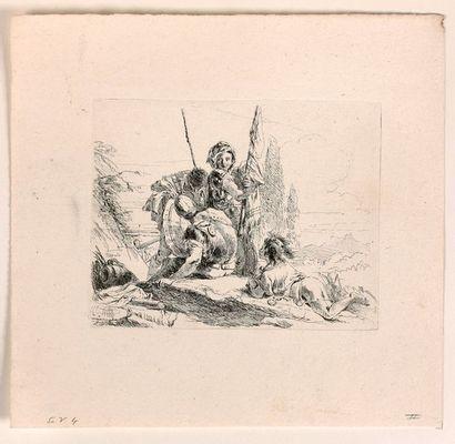Giovanni-Battista TIEPOLO (Venise 1696-1770)  Varj Cappricj Inventati, ed. Incisi...