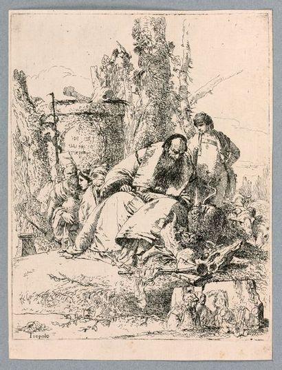 Giovanni-Battista TIEPOLO (1696-1770)  Le...