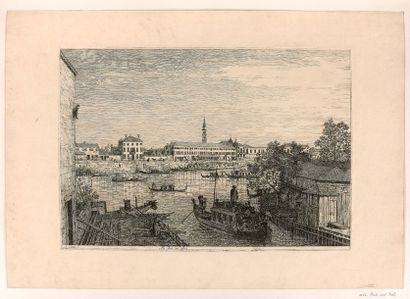 Antoine CANAL dit CANALETTO (1698-1768)  Ale...