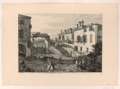 Antoine CANAL dit CANALETTO (1698-1768)  Le...