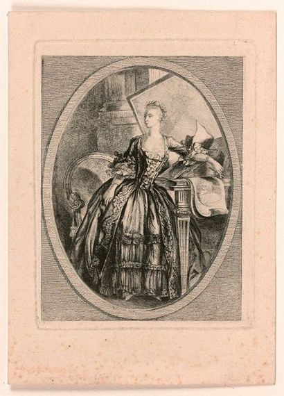 Claude-Henri WATELET (1718-1786)  Portrait...