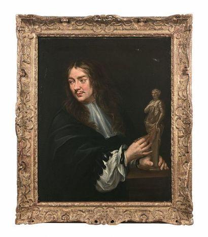 École française vers 1660  Portrait d'un...
