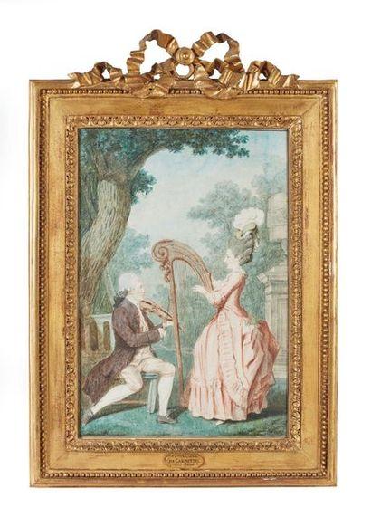 Louis CARROGIS dit CARMONTELLE (Paris, 1717-1806)...