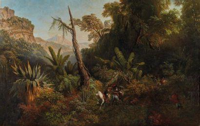 Pharamond BLANCHARD (1805-1873)  Clairière...