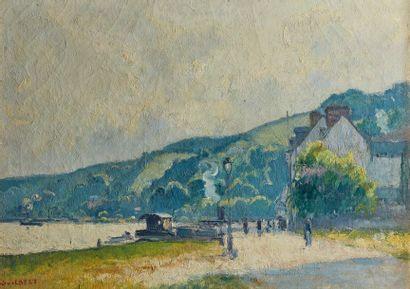 Narcisse GUILBERT (1878-1942)  Croisset au...