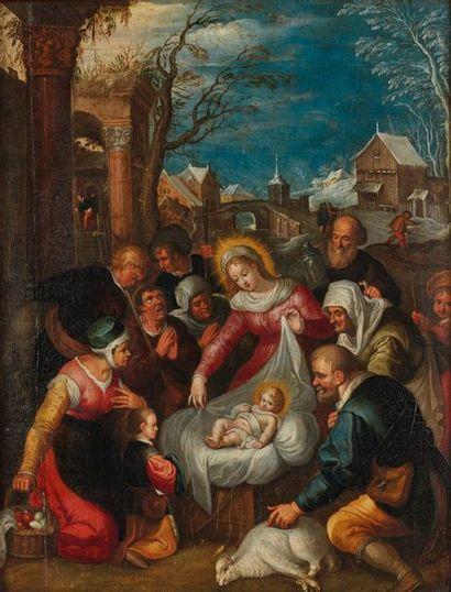 Attribué à Cornelis de BAILLEUR (Anvers,...