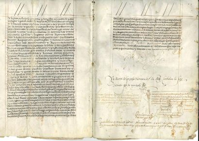 ESPAGNE. PHILIPPE II (1527-1598) Roi d'Espagne....