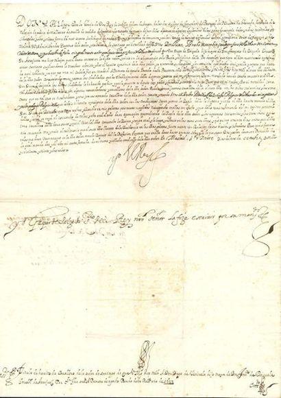 ESPAGNE. PHILIPPE IV (1605-1665) Roi d'Espagne....