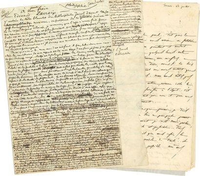 Paul LACROIX, dit le Bibliophile Jacob (1806-1884)....