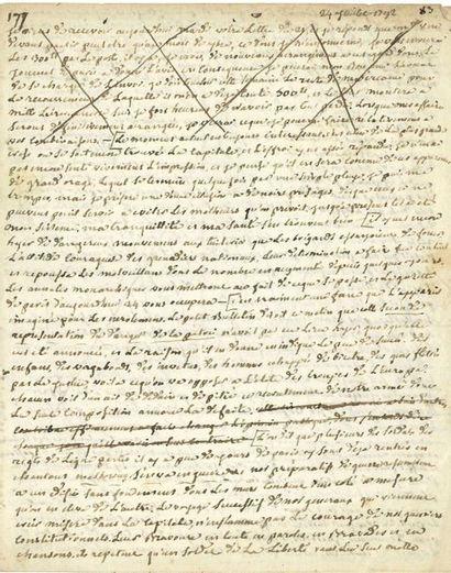 Alexandre LENFANT (1726-1792) jésuite, protégé...